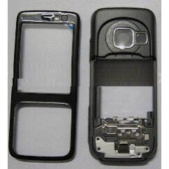 Nokia N73 komplett ház, Előlap, ezüst