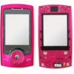 Samsung U600 elő+nav.pan, Előlap, rózsaszín