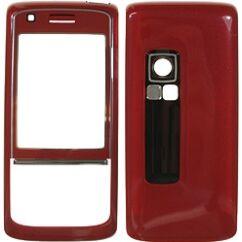 Nokia 6288 elő+akkuf, Előlap, bordó