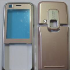 Nokia 6120 Classic elő+akkuf+antf., Előlap, rózsaszín