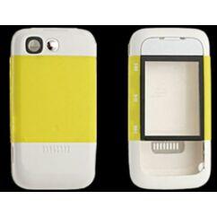 Nokia 5300 elő+akkuf, Előlap, sárga