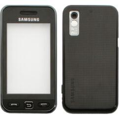 Samsung S5230 komplett ház, Előlap, fekete