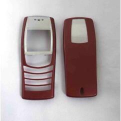 Nokia 6610 elő+akkuf, Előlap, piros