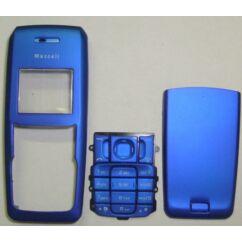 Nokia 2310 elő+akkuf.+gomb, Előlap, sötétkék