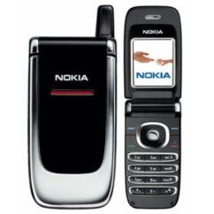 Nokia 6060 k. ház, Előlap, ezüst-fekete