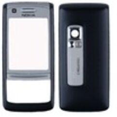 Nokia 6280 elő+akkuf, Előlap, barna
