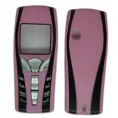 Nokia 7250 elő+akkuf, Előlap, rózsaszín