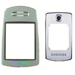 Samsung E700 külső + belső, Plexi