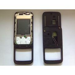 Nokia 5200, Csúszka, (LCD+panel), fekete