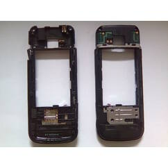 Középső keret, Nokia 6730, fekete