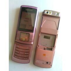 Samsung U900 komplett ház akkufedél nélkül, Előlap, rózsaszín