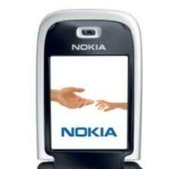 Előlap, Nokia 6131 belső kijelző keret, fehér