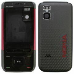 Nokia 5610 komplett ház, Előlap, piros