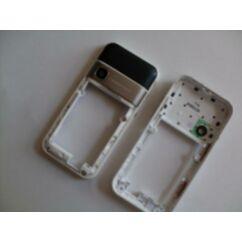 Samsung F250 hátsó keret, Előlap, fehér-fekete