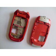 Samsung E570 bill.keret + akkufedél, Előlap, rózsaszín