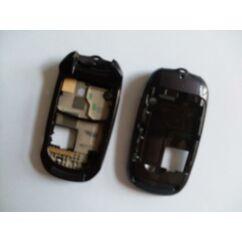 Samsung E570 bill.keret + akkufedél, Előlap, lila