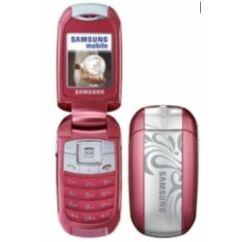 Samsung E570 komplett Előlap, rózsaszín