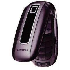 Samsung E570, Előlap, lila
