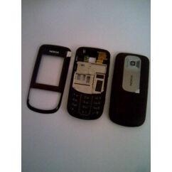 Nokia 3600 Sl elő+akkuf+köz, Előlap, vörösbor