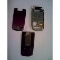 Nokia 6600 Fo elő+akkuf+köz, Előlap, lila