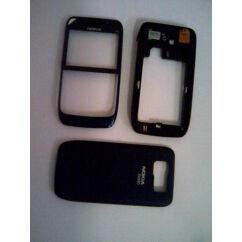Nokia E63 elő+köz+hátl, Előlap, kék