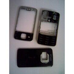 Nokia N96 elő+akkuf+köz+gomb, Előlap, fekete