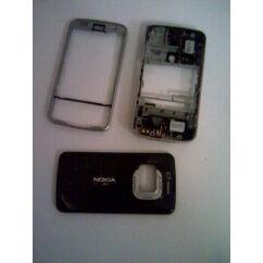 Nokia N96 elő+akkuf+köz, Előlap, fekete