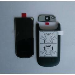 Nokia 3710 Fo elő+akkuf+kamf, Előlap, fekete