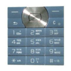 Sony Ericsson W350, Gombsor (billentyűzet), jégkék