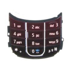 Nokia 3600 Slide alsó, Gombsor (billentyűzet), vörösbor