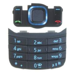 Nokia 6600 Slide alsó+felső, Gombsor (billentyűzet), kék
