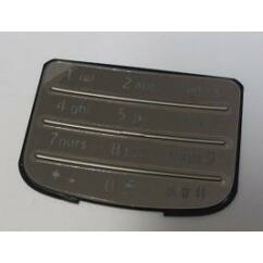 Nokia 6700 Classic alsó, Gombsor (billentyűzet), króm