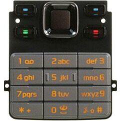 Nokia 6301, Gombsor (billentyűzet), ezüst