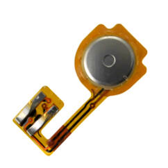 Apple iPhone 3G/3Gs, Gomb, (HOME belső átv.), fekete