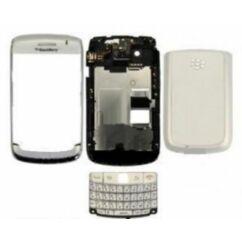 Blackberry 9700 Bold komplett ház, Előlap, fehér
