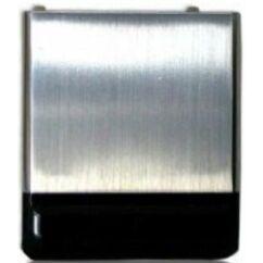 Samsung F480, Akkufedél, fekete-ezüst
