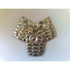 Alcatel OT-556, Gombsor (billentyűzet), ezüst