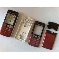 Sony Ericsson T610 komplett ház, Előlap, piros-fekete
