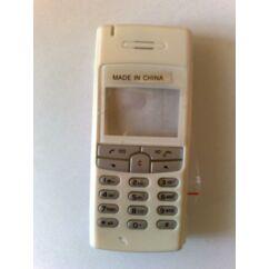 Sony Ericsson T100 komplett ház +billentyűzet, Előlap, fehér