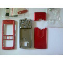 Sony Ericsson T630 komplett ház, Előlap, piros