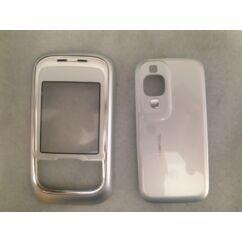 Nokia 6111 elő+akkuf, Előlap, ezüst