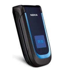 Nokia 2760 elő+akkuf, Előlap, sötétkék