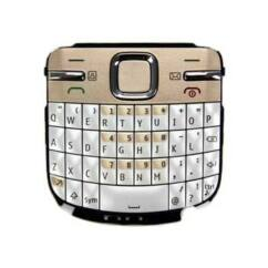 Nokia C3-00 QWERTY, Gombsor (billentyűzet), arany