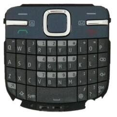 Nokia C3-00 QWERTY, Gombsor (billentyűzet), szürkéskék