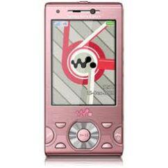 Sony Ericsson W995 +billentyűzet, Előlap, rózsaszín