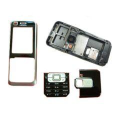 Nokia 6120 Classic k. ház, Előlap, (akkuf.nélkül), fekete