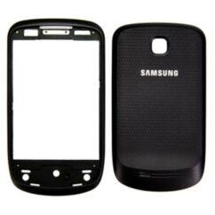 Samsung S5570 elő+akkuf, Előlap, fekete
