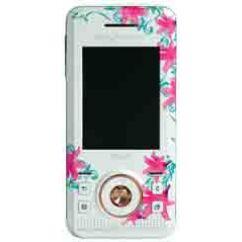 Sony Ericsson S500, Előlap, rózsás