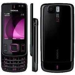 Nokia 6600 Sl elő+akkuf, Előlap, magenta