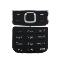 Nokia 6700 Classic alsó+felső, Gombsor (billentyűzet), fekete